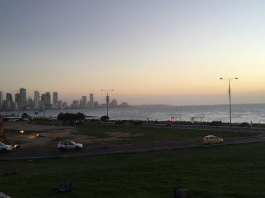 Panorama View at Sunset